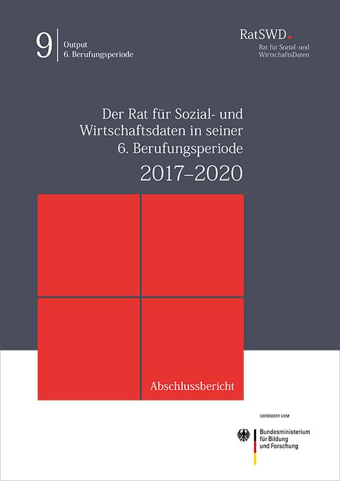 Cover RatSWD Abschluss 2017-2020bericht
