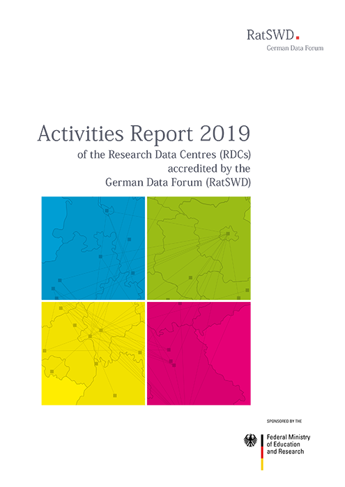 Cover RatSWD Activities Report 2019