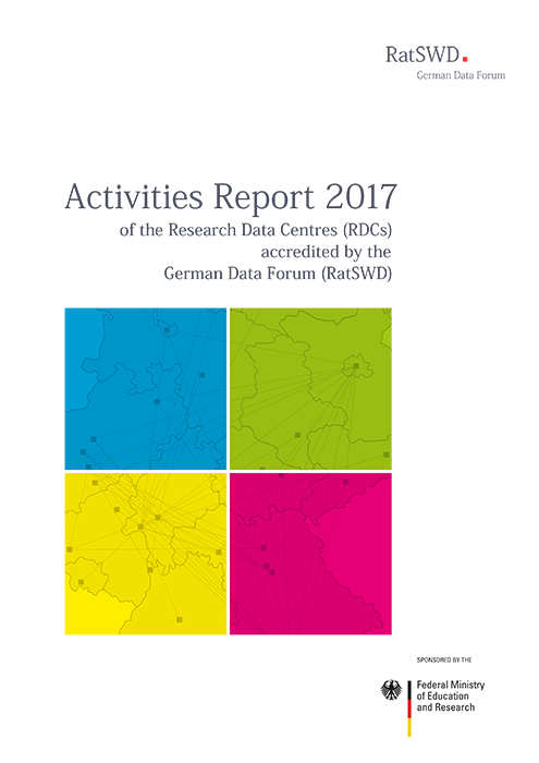 Cover RatSWD Activities Report 2017