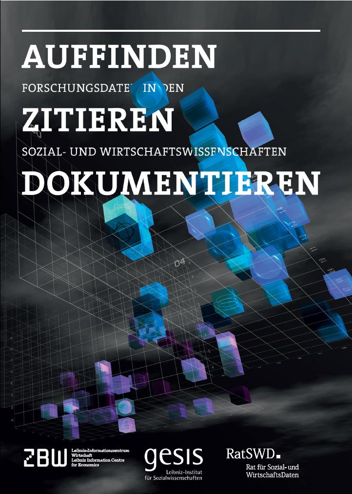 """Cover des Ratgebers """"Auffinden - Zitieren - Dokumentieren"""""""